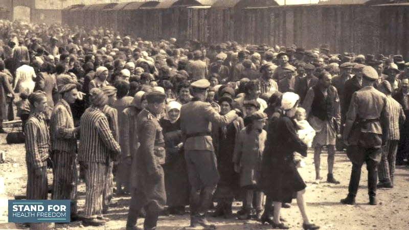 Holocaust Survivor Sees Pandemic Lockdown as a Return to Nazism